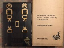 Hot Toys DC BATMAN BEGINS BATSUIT TOYFARE Exclusive Bruce Wayne Christian Bale