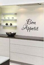 Bon Appetit kitchen vinyl wall art sticker 30cm x 21.5cm