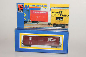 LIFE LIKE N SCALE GREAT NORTHERN GN #17879 50' BOXCAR, NEW IN BOX
