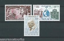 MONACO - 1974 YT 964 à 966 - TIMBRES NEUFS** LUXE
