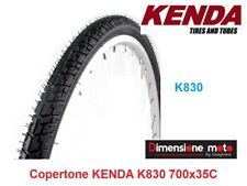 "Copertone ""KENDA"" 700x35C (37-622) K830 Scanalato Nero per Bici 28"" Single Speed"