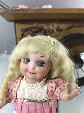 """7"""" Antique Bisque Head Googly Nobbikid Doll AM 253  Circa 1920"""
