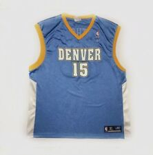 Reebok Denver Nuggets Carmelo Anthony Basketball Jersey 15 Xl