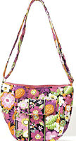 Abbergale Crosss Body Hipster Bag Small Colorful Cotton Quilted