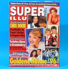 Super Illu 33-1996   08.08.1996 Tamara Danz Chris Doerk Unfälle in Brandenburg