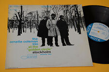 ORNETTE COLEMAN TRIO LP TOP FREE JAZZ ORIG BLUE NOTE GERMANY EX++ AUDIOFILI