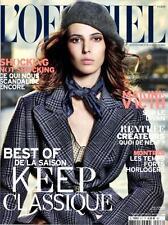 L'OFFICIEL Paris Magazine  977 August 2013, Ruby Aldridge,Marcin Tyszka NEW
