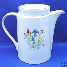 Coffee Pot Tienshan Prelude PRIMAVERA Colorful Mixed Flowers Flat Lid 5 Cups