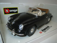"Bburago  Porsche  356B  Cabriolet  ""1961"" (schwarz) 1:18 OVP !"
