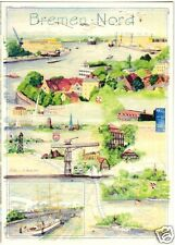 AK, Bremen, Bremen Nord, Künstlerkarte v. Katharina Noack, um 2000