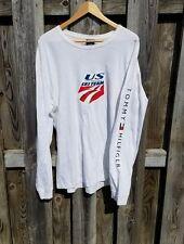 Tommy Hilfiger 2005 US Ski Team long sleeve t-shirt Men's SZ XL - USA - Olympic