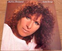Barbra Streisand Love Songs 1981 UK LP Record Original Pressing