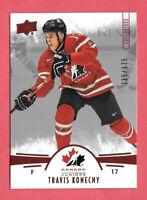 2016-17 Travis Konecny Upper Deck Team Canada Juniors 115/175 Red - Flyers