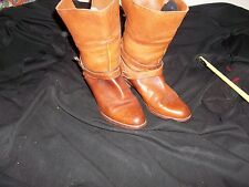 Dexter shoemakers to Americas Women's Leather boots with near 3 inch heel