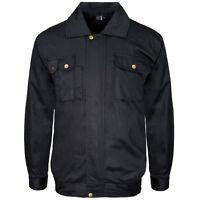 Supertouch Polycotton Mens Work Drivers Jacket Coat Uniform Warehouse S to 4XL
