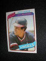 1980 Topps #700 Rod Carew California Angels NrMt