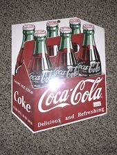 ANDE ROONEY VINTAGE PORCELAIN SIGN - COCA-COLA -  CARTON Sealed