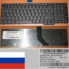 Clavier Qwerty Russe ACER 8920 8920G 6930 ZY2 9J.N8782.M0R AEZY2700010 Noir