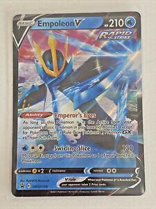 Empoleon V Black Star Promo Pokemon Card - SWSH108 - Rapid Strike
