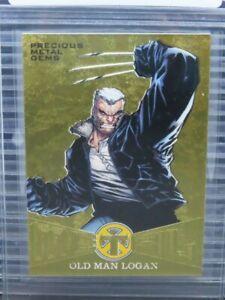 2018 Fleer Ultra X-Men Old Man Logan Gold Parallel Precious Metal Gems #MBO Y321