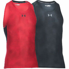 Under armour Polyester Sleeveless T-Shirts for Men
