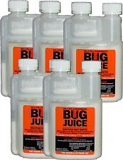 BUG JUICE Insecticide Paint Additive Treats 5 Gallons LOT OF 5 BOTTLES FREE SHIP