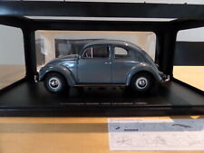 1:18 AUTOART 79779 1955 VOLKSWAGEN VW BEETLE / KÄFER 1200  STRATOSSILBER NEU