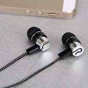 Fashion 3.5mm In-Ear Earphone Stereo Headphones Super Bass Headset Metal Earbuds