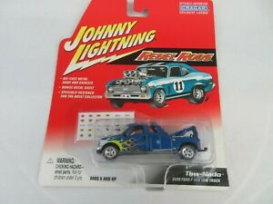 JOHNNY LIGHTNING REBEL RODS - TOW-NADO 2000 FORD F-550 TOW TRUCK / WRECKER