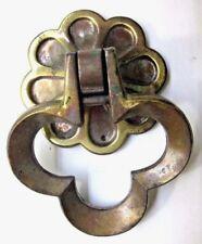 Conjunto de 6 Gótico Fleur de Lys final de Hierro Fundido Mango de Puerta Tire del cajón WH35