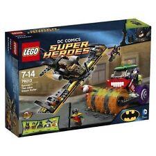 Lego DC Comics Super Heroes Batman El Guasón Rodillo de vapor (76013) Nuevo Y en Caja Gratis P&P