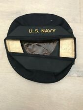 WW2 US Navy Wool Donald Duck Pancake Style Hat WWII Cracker Jack Size 7