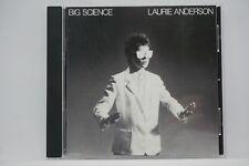 Laurie Anderson - Big Science  CD Album 1st press 1982 (O Superman) RARE