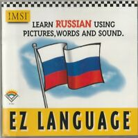 Classic Pc Software - Ez Language - Learn Russian Using Pictures, Words & Sound