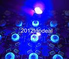 10pcs 3W High Power ULTRA VIOLET UV LED 395-400nm Aquarium on 20mm star base