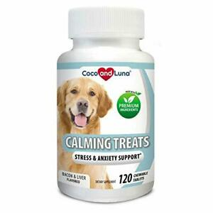 Coco and Luna Calming Treats for Dogs - Helps with Dog Anxiety, Separation,...