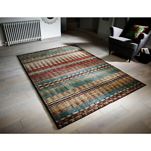 Florenza 90 X Multicoloured Machine Woven Rug Hall Runner in various sizes