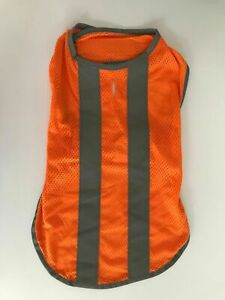 Petco Dog Safety Orange Reflective Jacket/Vest Sz M/L