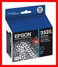 Genuine Epson 252xl High Capacity Black Ink Cartridge T252XL120
