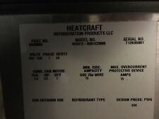 Heatcraft FCB52DA1/ ROCF29S01C2N00 condenser 2 Fan 1075RPM 230/1 PH