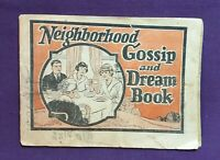 *Vintage Dr. Pierce's Medicine Neighborhood Gossip & Dream Book booklet
