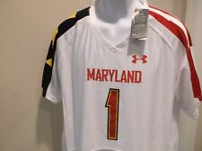 Maryland Terrapins Under Armour Jersey Size Youth XL 18-20 nwt Free Ship