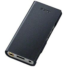 Ckl-Nwzx100 B Official Sony Walkman (Zx100 only) Leather Case BlacK / From Japan