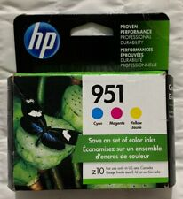 Genuine HP 951 Multi-Color Ink Cartridge Set CR314FN Exp 2021+ Sealed Retail Box