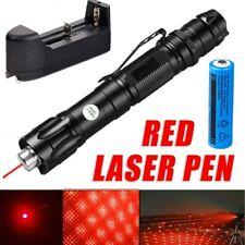 990Miles 650nm Red Laser Pointer Astronomy Star Beam Torch Lazer Pen+Batt+Char