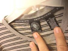 DKNY JEANS mens 90's Vintage Striped Shirt XL/xxl