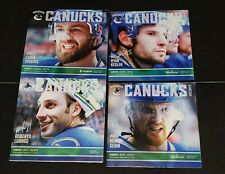 2013/14 VANCOUVER CANUCKS COMPLETE SEASON PROGRAM LOT NHL