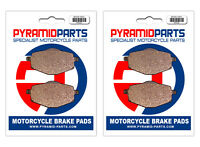Front & Rear Brake Pads for Yamaha YTZ 250 N/S TR1-Z 85-86