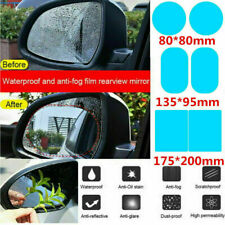 2Pcs Car Rearview Mirror Film Rainproof Anti-Fog Hydrophobic-Protective-Sticker