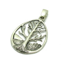 STERLING SILVER PENDANT SOLID 925 TREE OF LIFE PE001056 EMPRESS